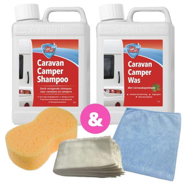 Mer Original Voordeelset Caravan Camper Was en Shampoo
